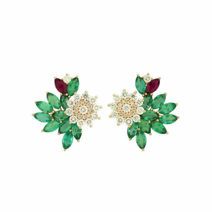 Blossom Sparkling Earrings