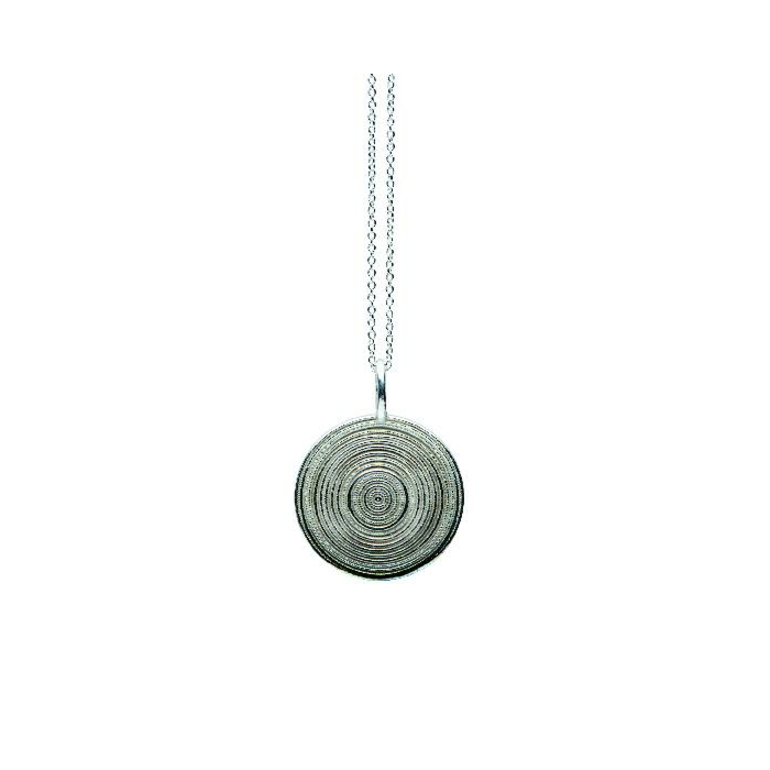 Sterling Silver Coiffe Pendant