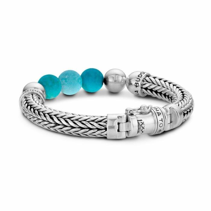 Ellen Beads Bracelet Turquoise by Buddha To Buddha