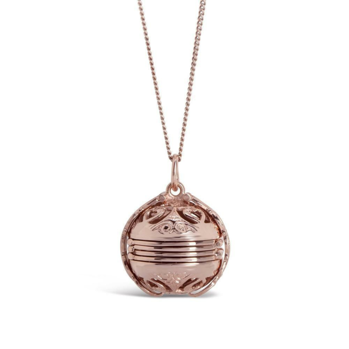 Rose Gold Plated Memory Keeper Locket Necklace