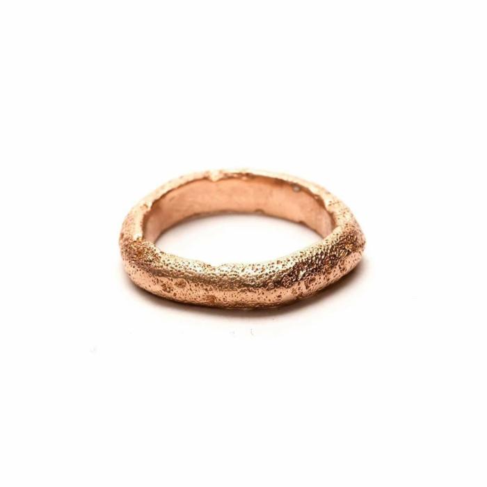 14kt Rose Gold Anticuus Ring