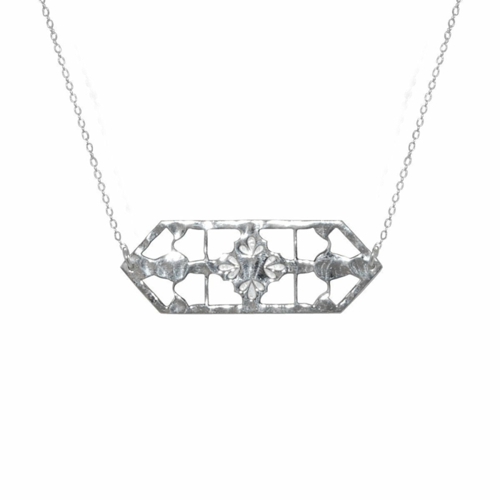 Sterling Silver Vintage Treasure Necklace