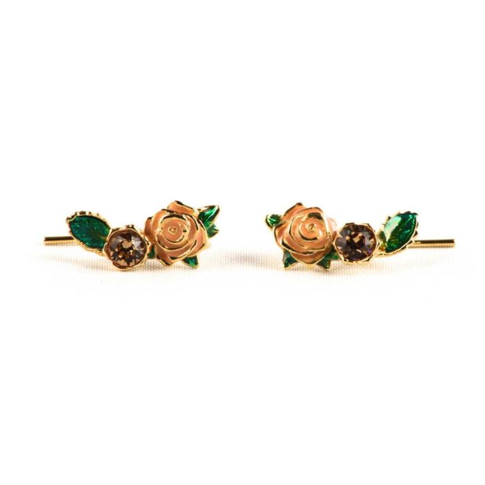 Gold Wild Rose Ear Creeper