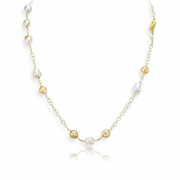 Baroque Cultured Pearl Necklace