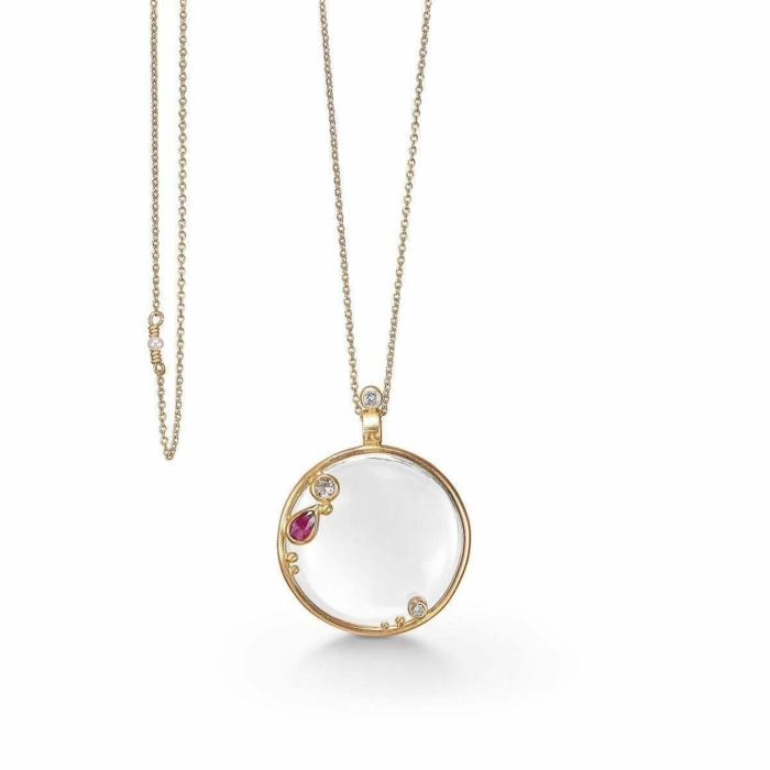 Gold Bonoculo Necklace | Bergsoe