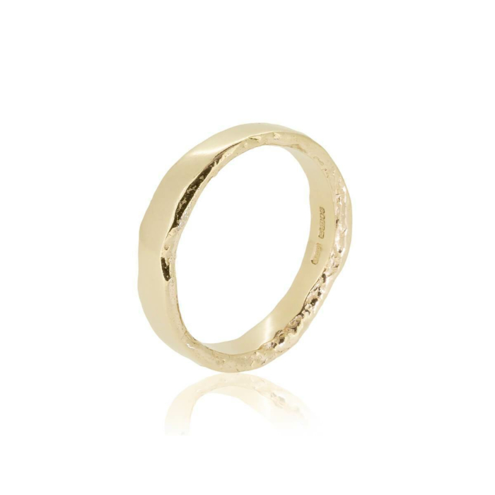 Sid Yellow Gold Ring