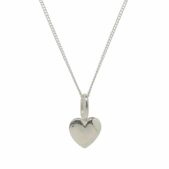Beaten Heart Silver Charm