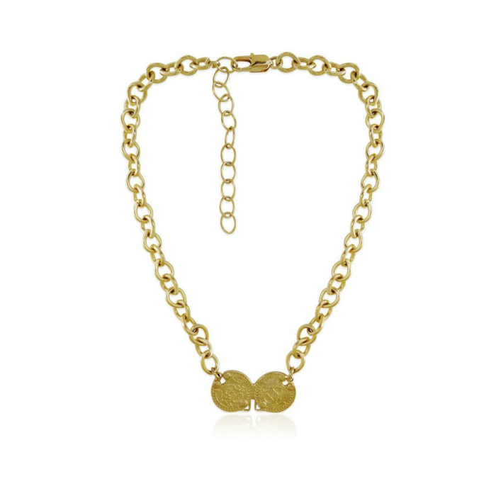14kt Gold Plated Plato Necklace