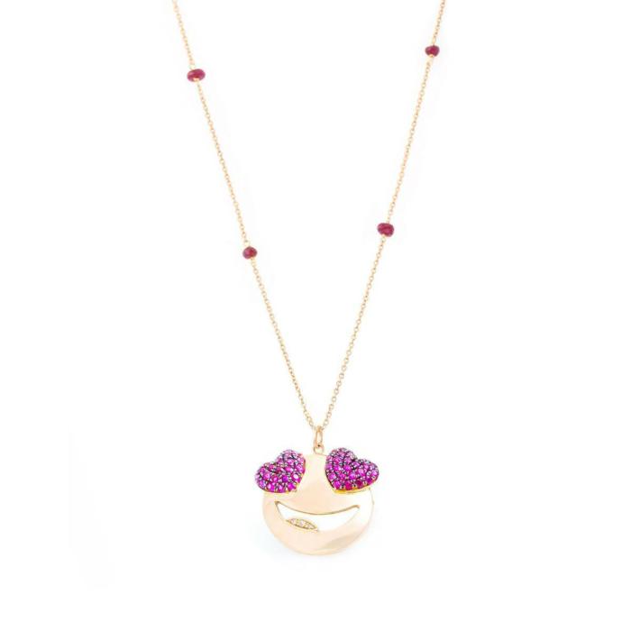 18kt Rose Gold Major Crush Necklace