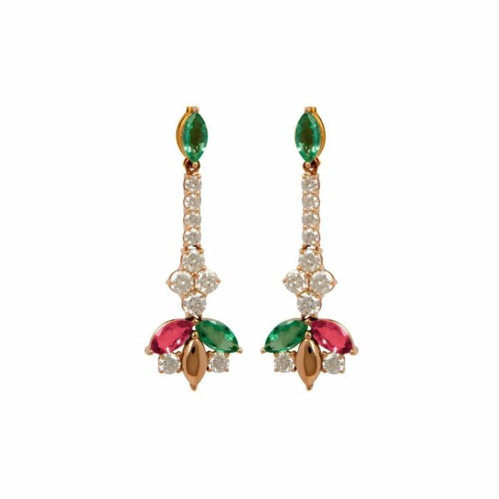 Delicate Sparkling Earrings
