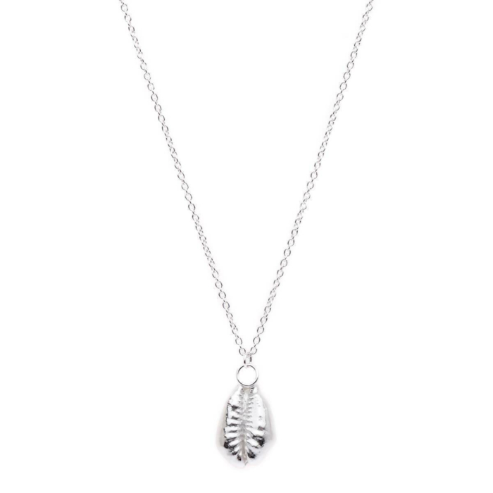 Sterling Silver Oceania Cowrie Necklace