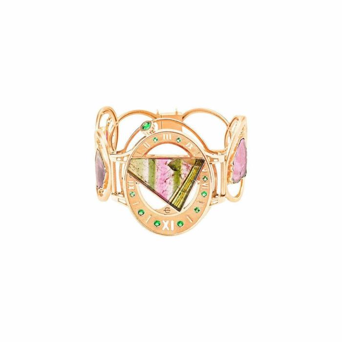 Rose Gold & Tourmaline Princess Bracelet | Jaime Moreno