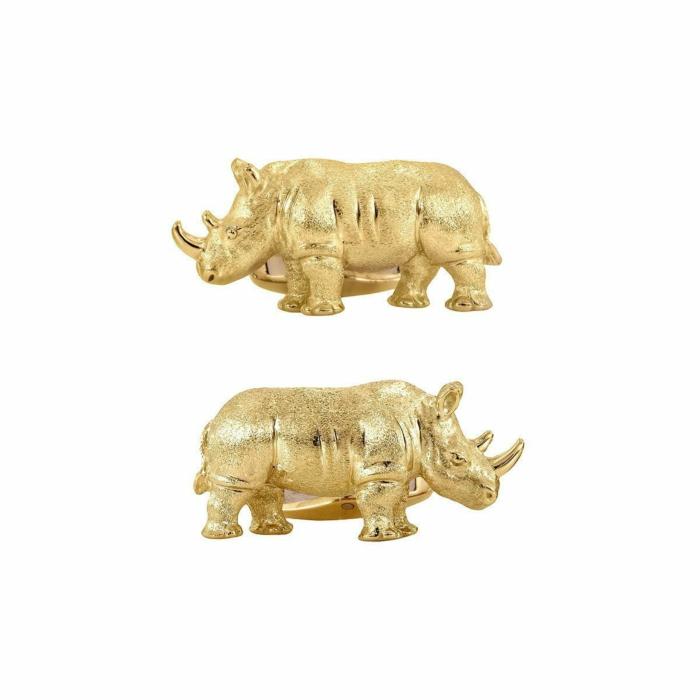 Rhino Cuff Links