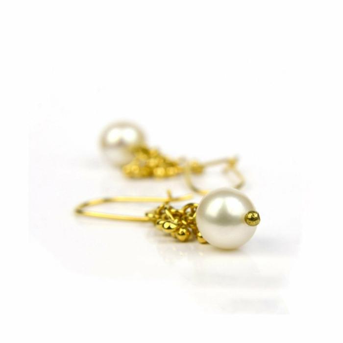 Lustre Pearl Earrings