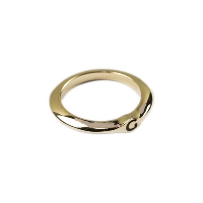 14kt Yellow Gold Signet Ring C