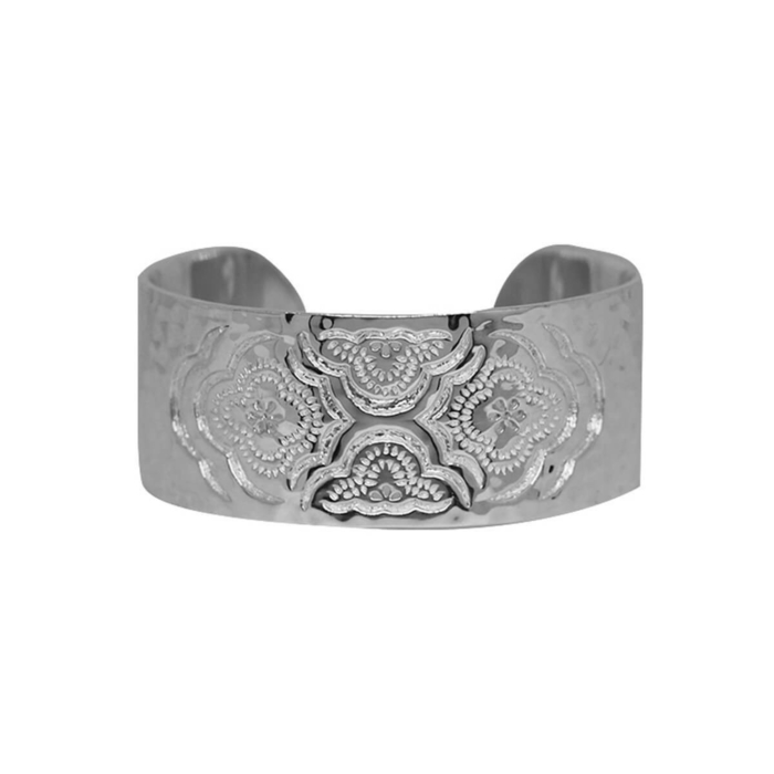 Sterling Silver Heavenly Cuff Bangle