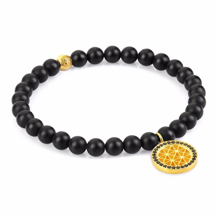 14k Atolyestone Charm Bracelet