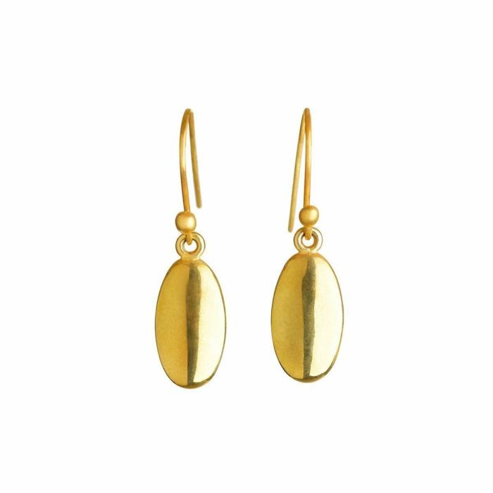 Gold Seed Earrings   juniimjuli