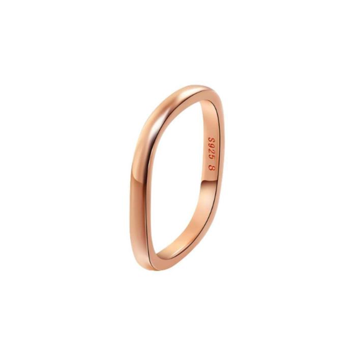 Rose Gold Vermeil Stacking Ring