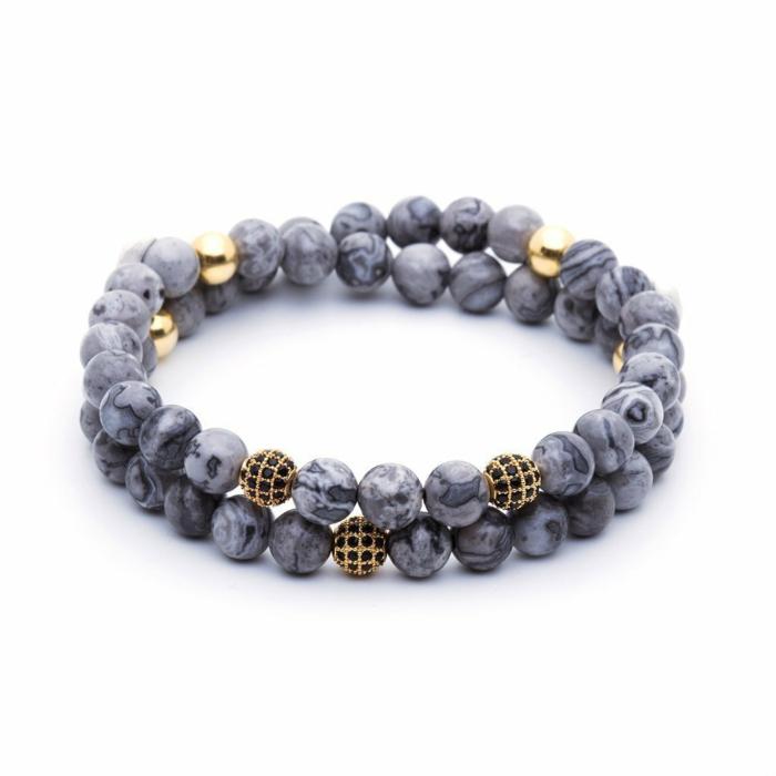 Double Beaded Bracelets