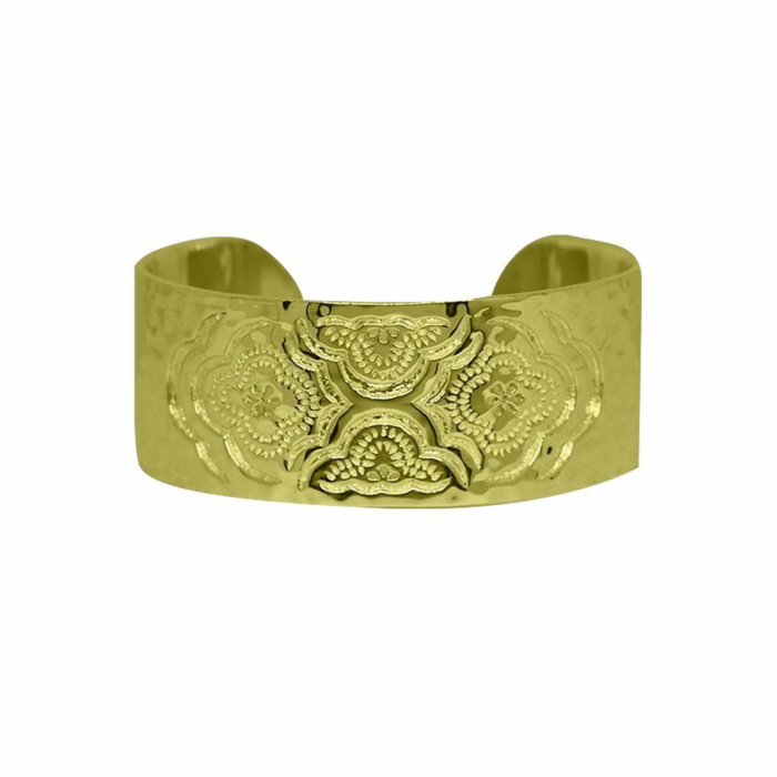 Gold Heavenly Cuff Bangle