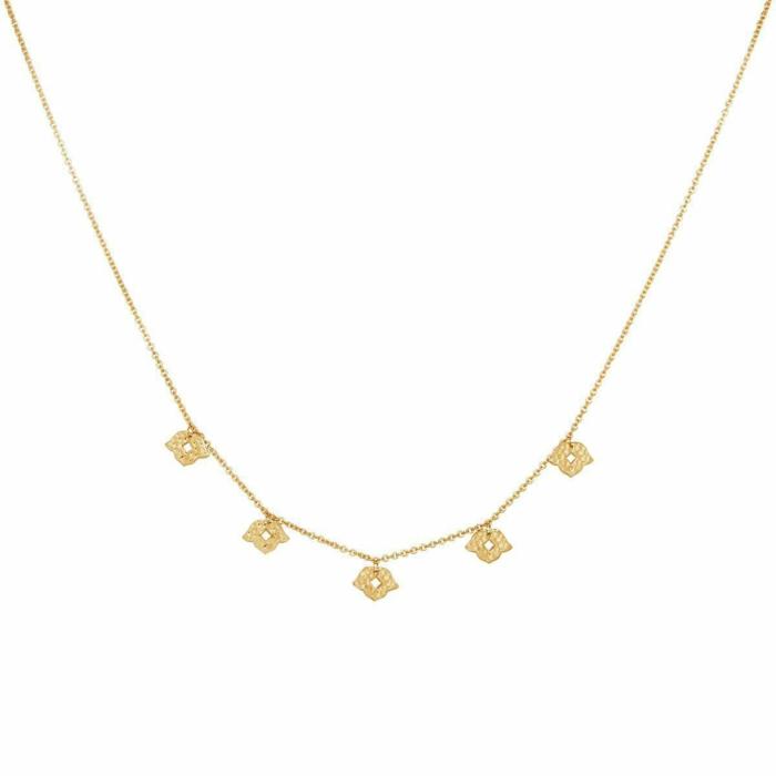 Gold Beleza Choker Necklace