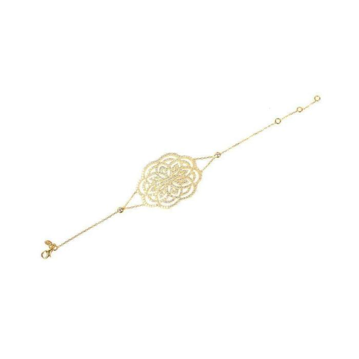 Lotus Bracelet Gold