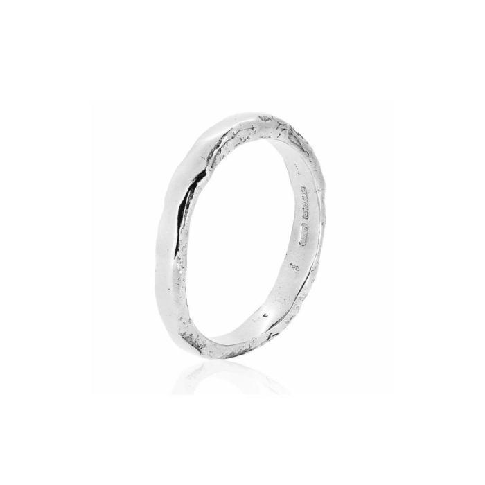 Otter Platinum Ring