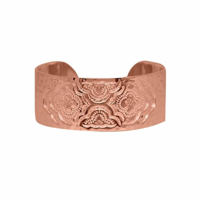 Rose Gold Heavenly Cuff Bangle
