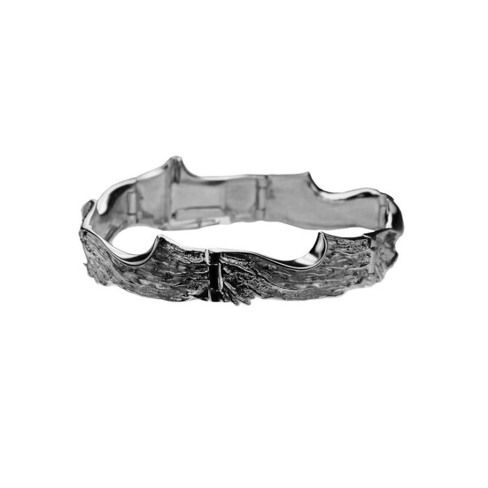 Sterling Silver Freezing February Bracelet