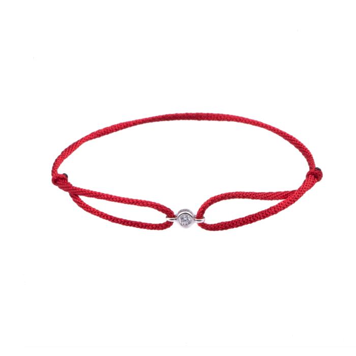 Vivien Frank Silk cord bracelet