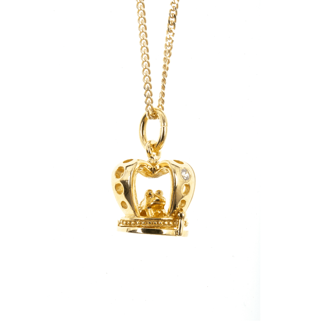 Gold Magical Charm Necklace - Wealth