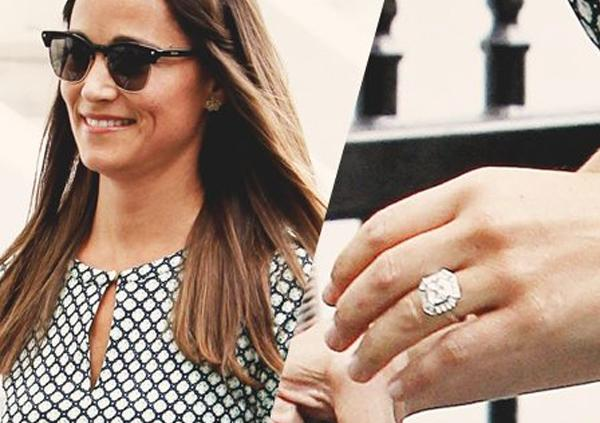 Get the look: Pippa Middleton's square engagement ring
