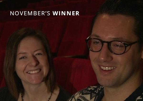 Ben & Natalie's Cinema Proposal