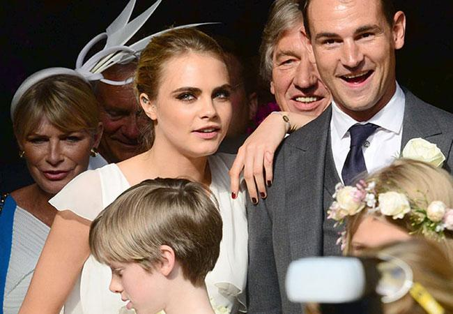 The Top 8 Celebrity Wedding Crashers!