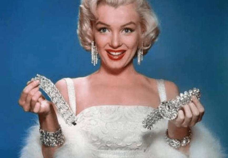 Iconic jewellery moments from Marilyn Monroe
