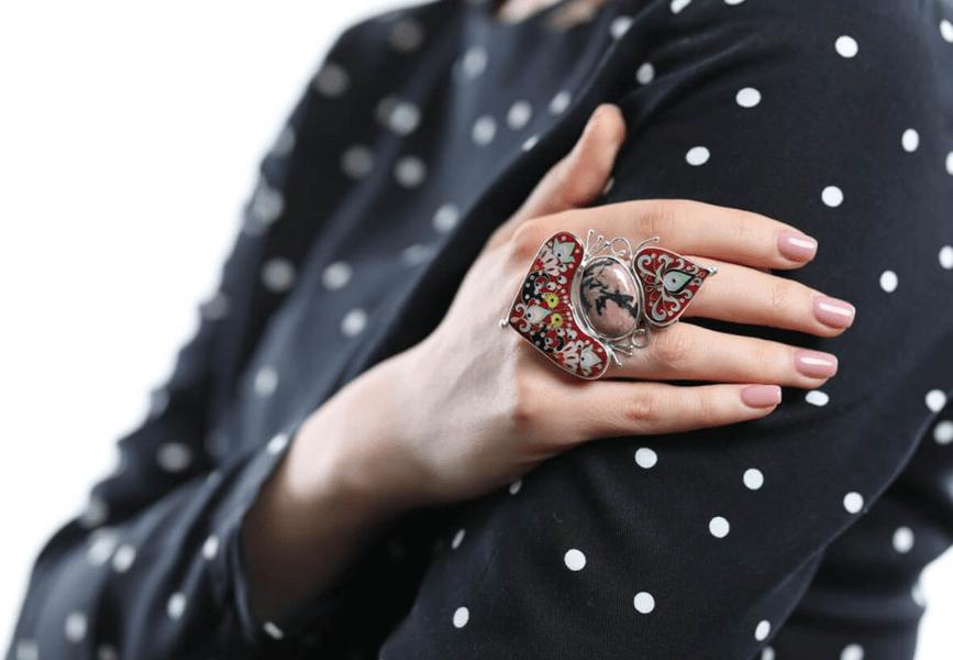 KIMILI & the rise of Cloisonné Enamel jewellery