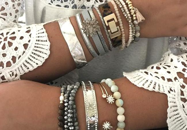 Nail The Layering Trend With Stylish Bracelets