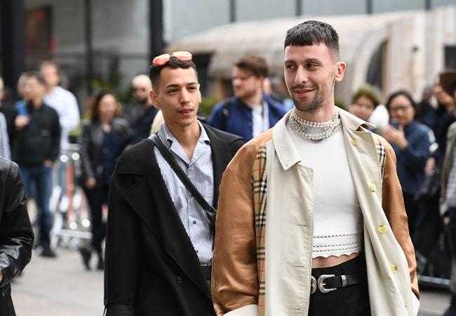 The best Jewellery seen at London Fashion Week Men's SS20