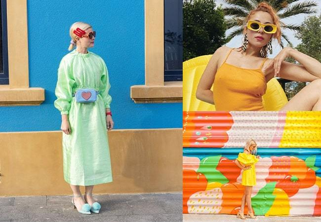 Influencers to follow if you love colour