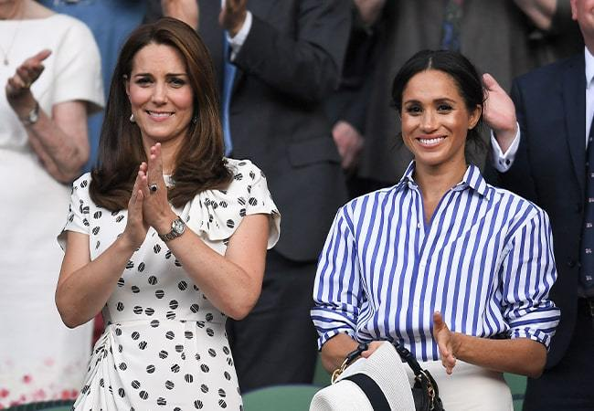 Kate Middleton and Meghan Markle's summer style