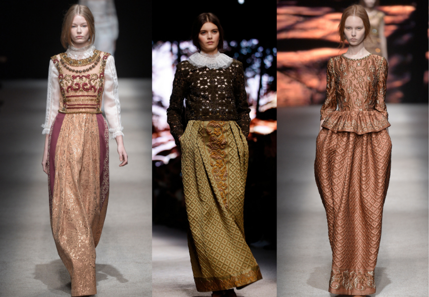 The Renaissance Trend As Seen At Fashion Week