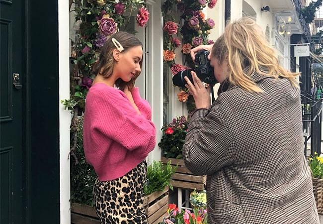 Behind The Scenes Of The JewelStreet Valentine's Day Photoshoot in London