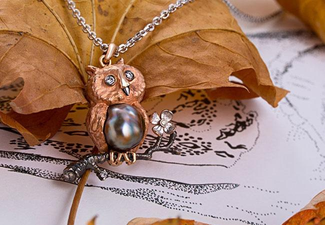 Animal-Inspired Christmas Necklaces