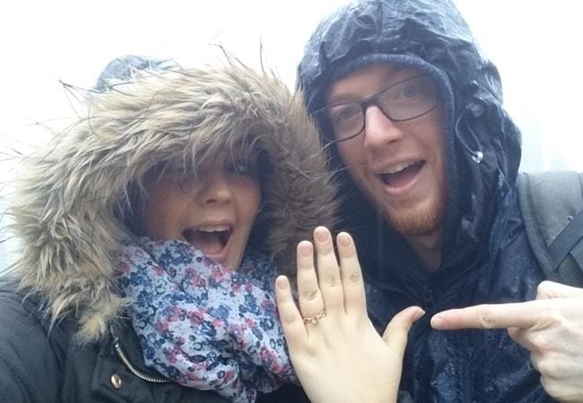 Kirstie & Gareth's Proposal Story