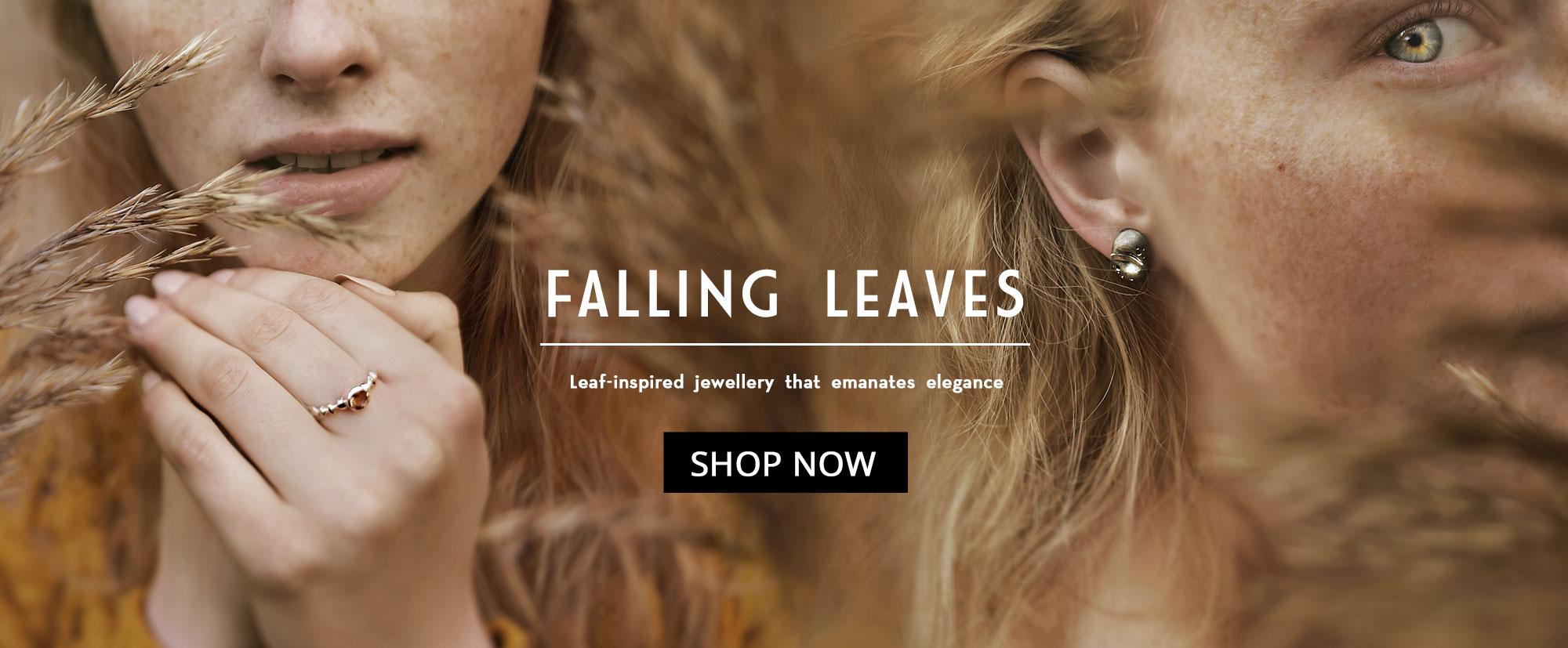 Leaf-inspired Jewellery