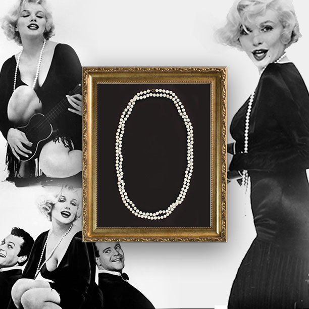 Win Marilyn Monroe's Some Like It Hot Necklace