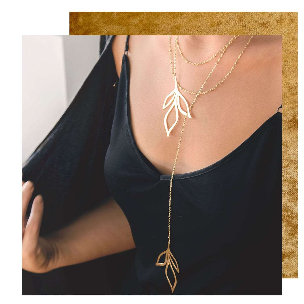 Broken Branch Necklace, Atelier Petites Pierres