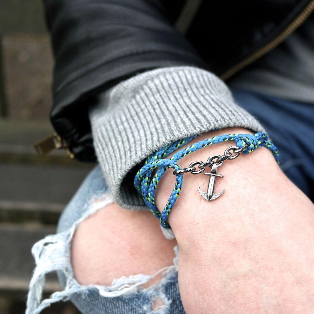 mens braided bracelet