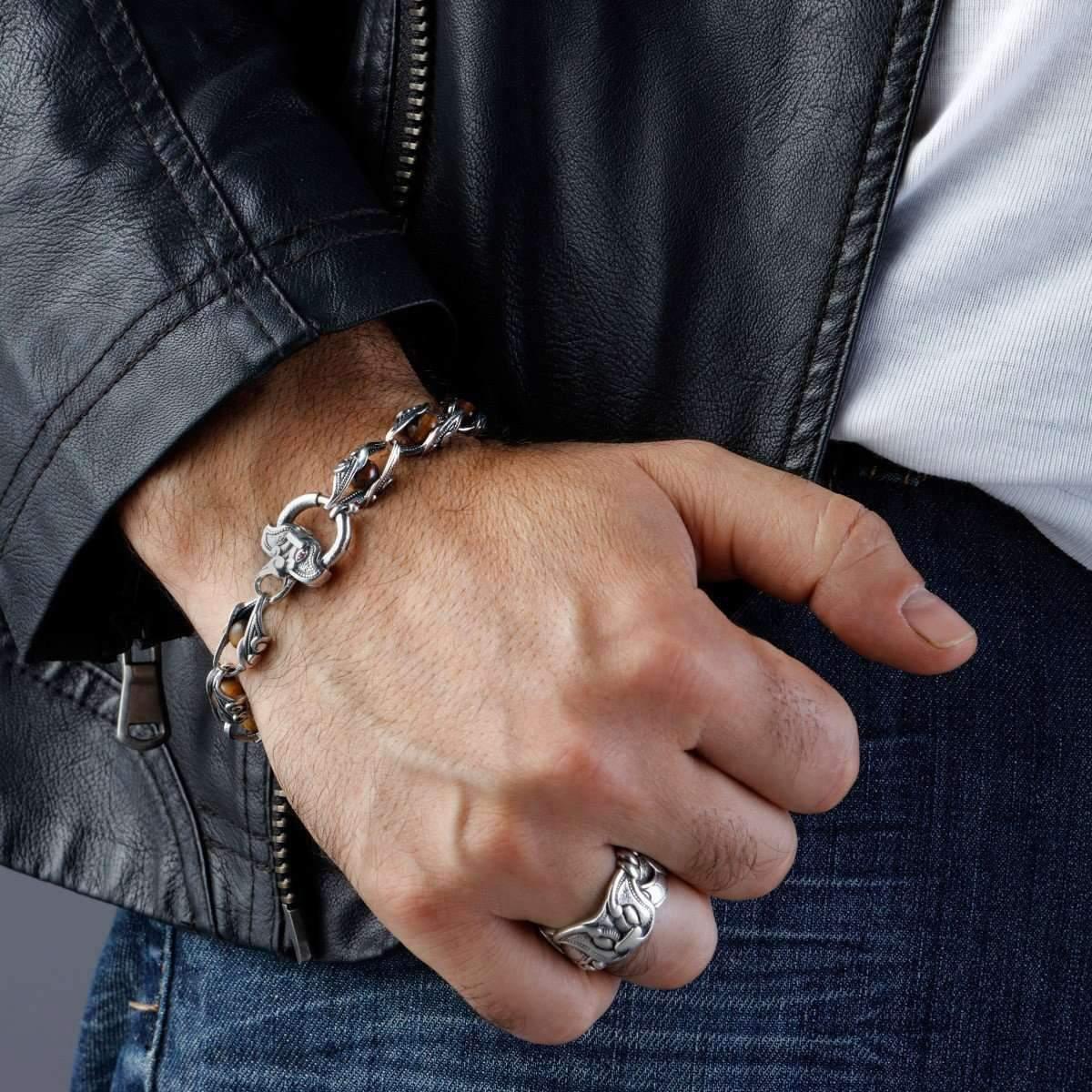 mens chain bracelet